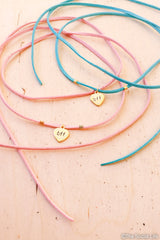 BFF Leather Wrap Necklace
