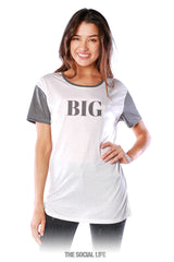Big's Elle Scoop Tee