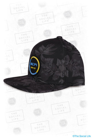 AEPI - Premium Black Hawaiian Hat