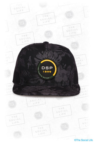DSP - Premium Black Hawaiian Hat