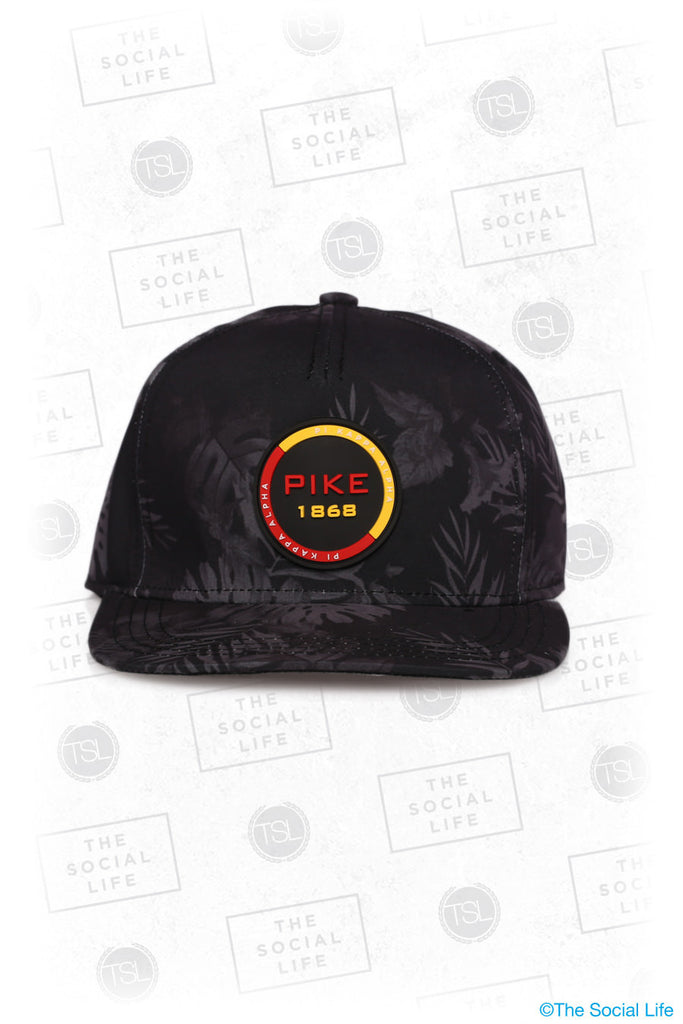 PIKE - Premium Black Hawaiian Hat