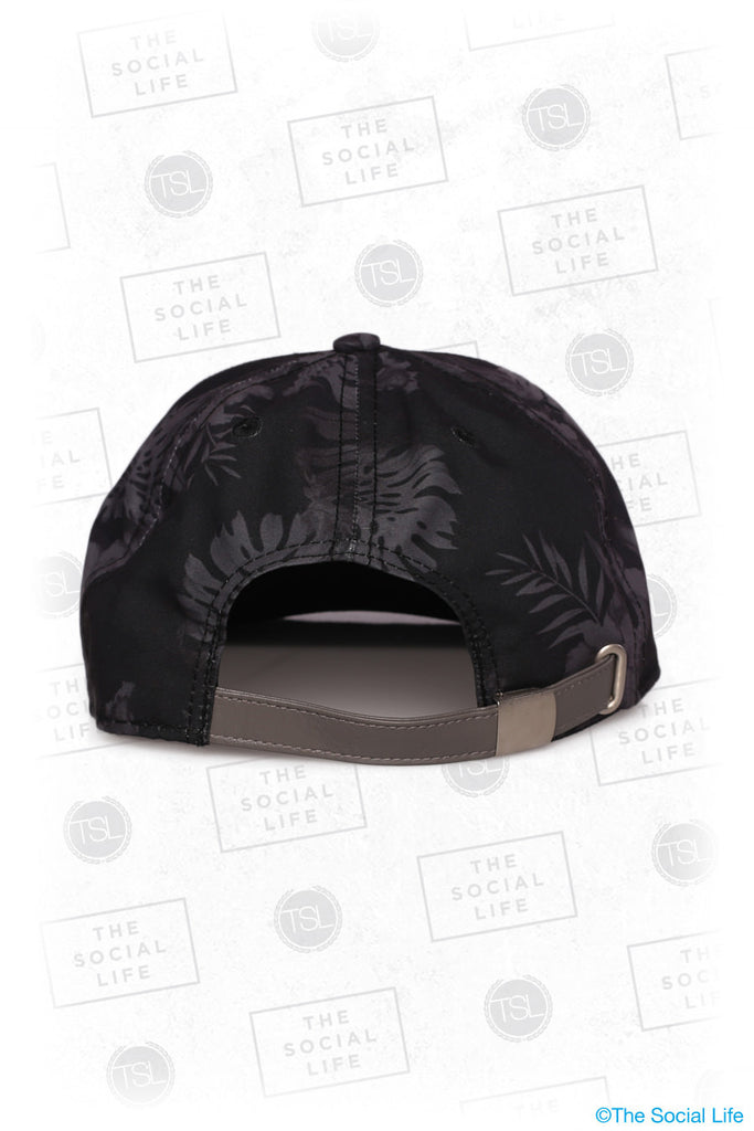 SigEp - Premium Black Hawaiian Hat