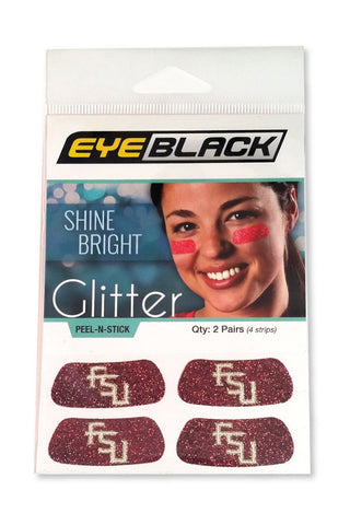 Florida State Glitter Eye Black