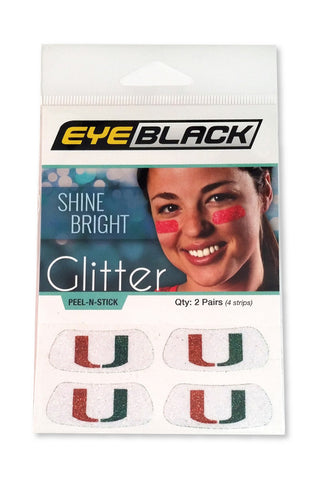 Miami Glitter Eye Black