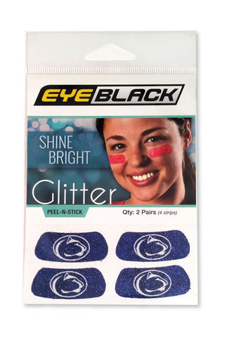 Penn State Glitter Eye Black
