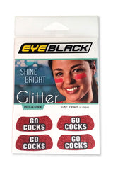 South Carolina Glitter Eye Black