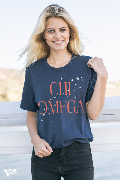 Chi Omega Allegiance Tee