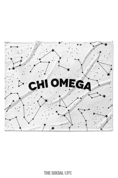 Chi Omega Constellation Blanket