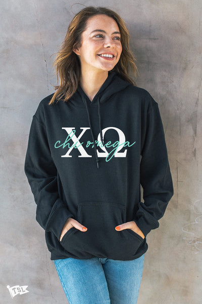 Chi Omega Essential Hoodie