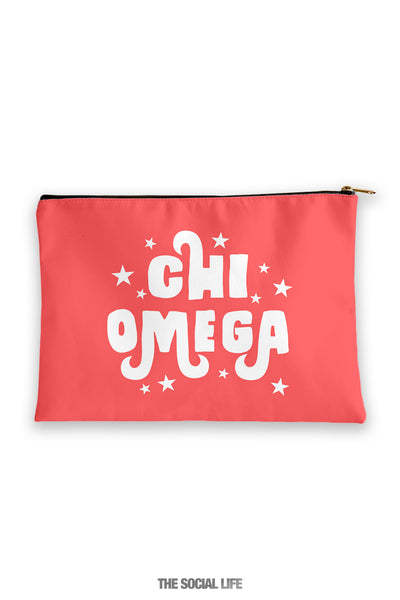 Chi Omega Pixie Cosmetic Bag
