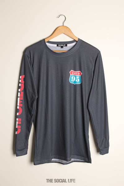 Chi Omega Route 66 Longsleeve