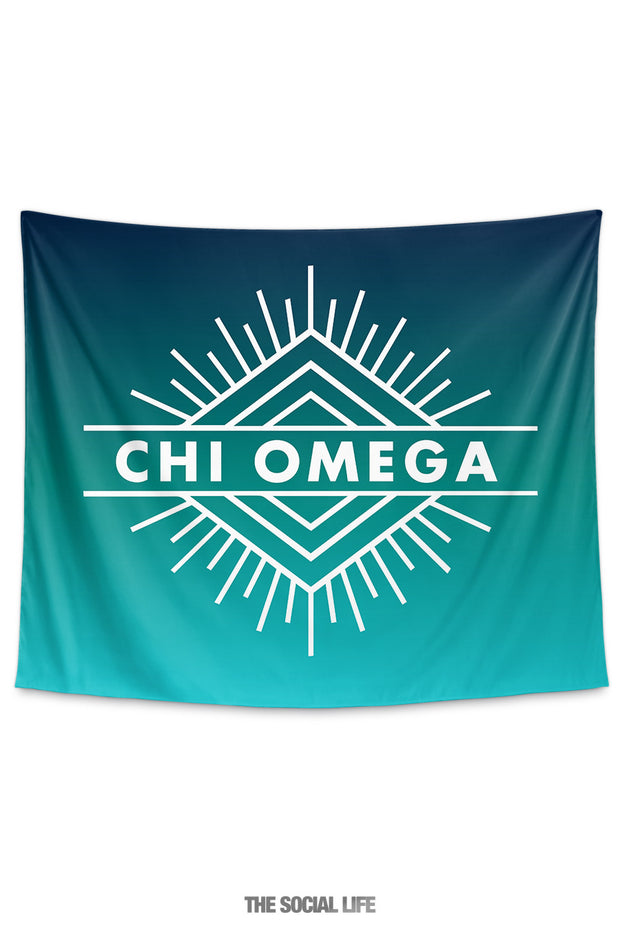 Chi Omega Twilight Tapestry