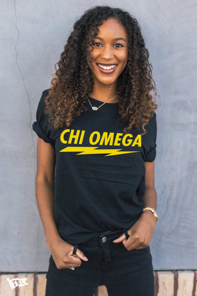 Chi Omega Voltage Tee