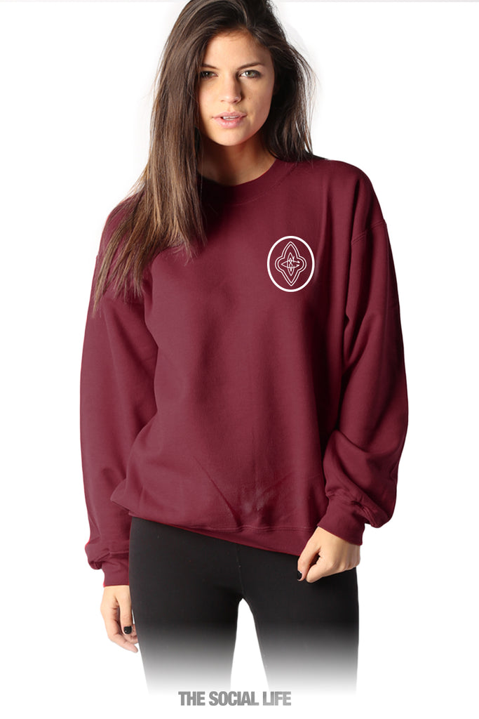Cap And Gown Club Crewneck The Social Life