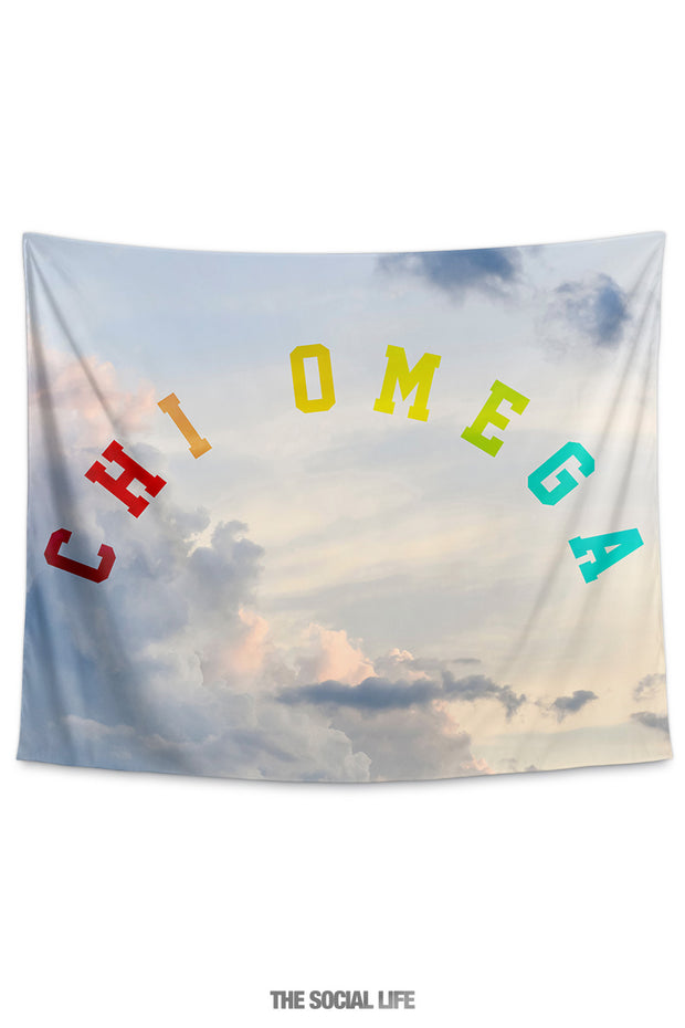 Chi Omega Dreamy Tapestry
