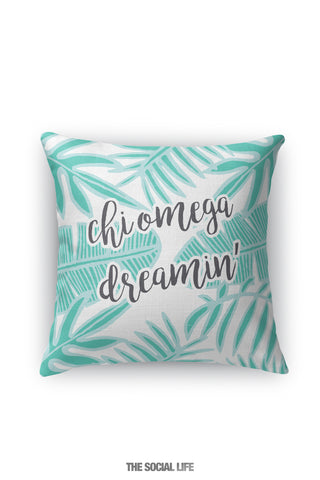 Chi Omega Dreamin' Pillow