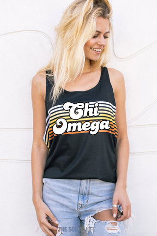 Chi Omega That 70s Tank