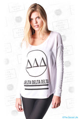 Tri Delta Classic Long Sleeve