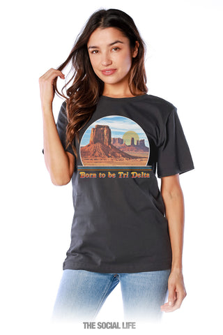 Delta Delta Delta Born to Be Tee