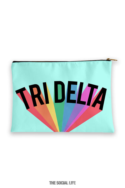 Delta Delta Delta Colorblast Cosmetic Bag
