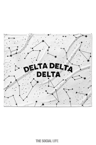 Delta Delta Delta Constellation Blanket