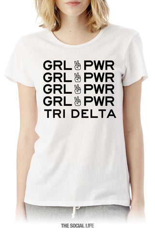Tri Delta Girl Power Tee
