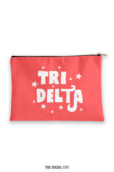 Delta Delta Delta Pixie Cosmetic Bag