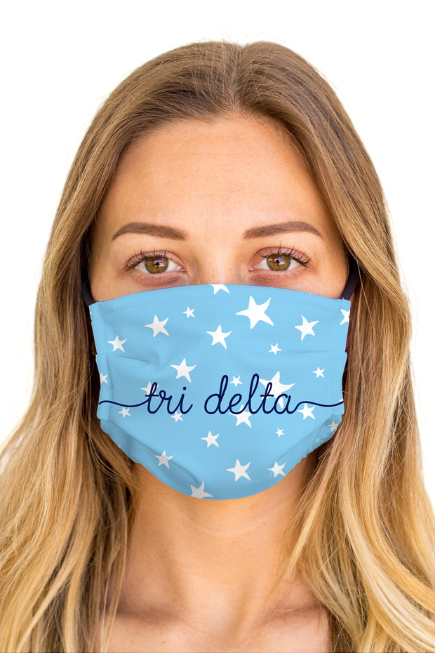 Delta Delta Delta Dreamy Mask (Anti-Microbial)