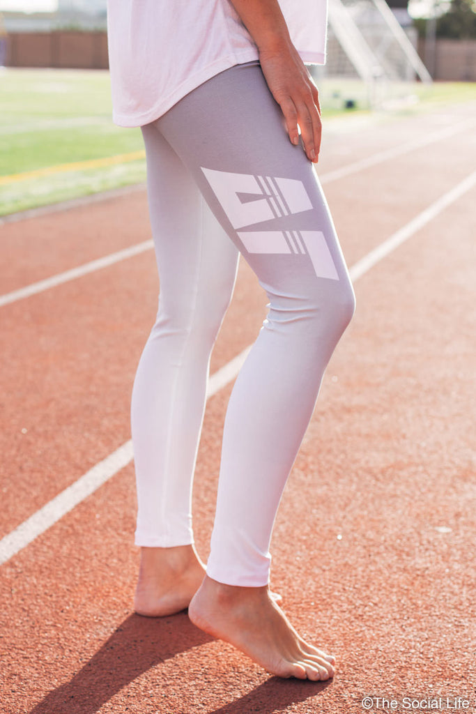 Delta Gamma Fade Leggings