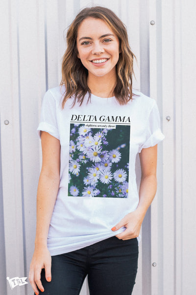 Delta Gamma Feature Tee