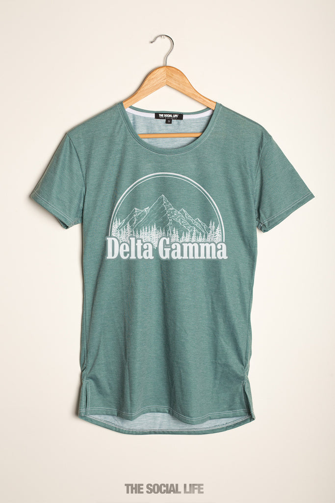Delta Gamma Forest Scoop Tee