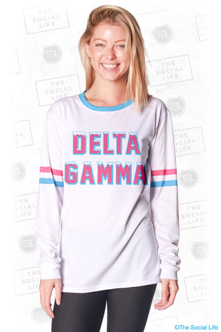 Delta Gamma Frosted Long Sleeve