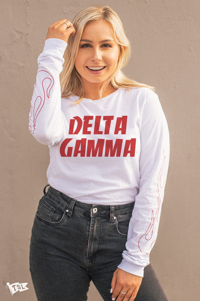 Delta Gamma Fuego Long Sleeve