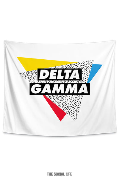 Delta Gamma Graphy Tapestry