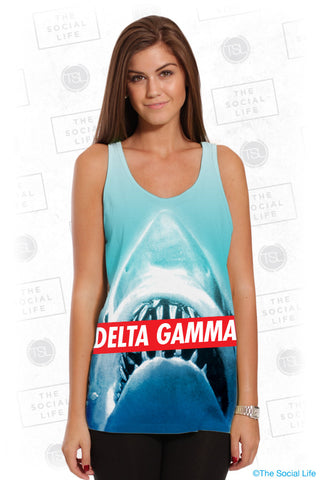 Delta Gamma Sharky Top