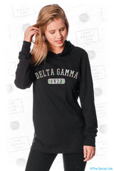 Delta Gamma Sporty Foil Top