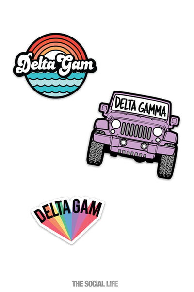Delta Gamma Sticker