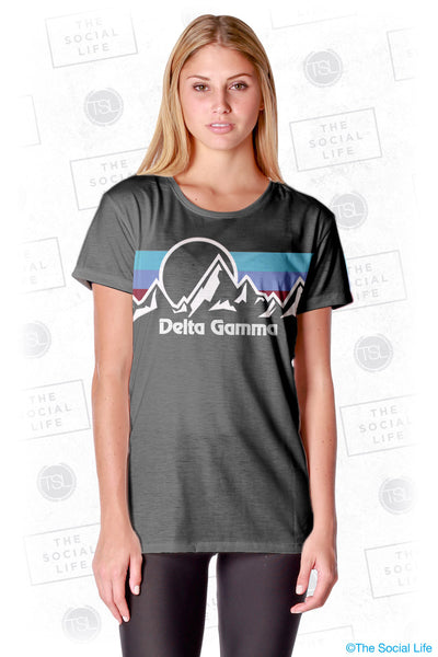 Delta Gamma Summit Scoop Tee