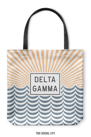 Delta Gamma Sunshine Tote Bag
