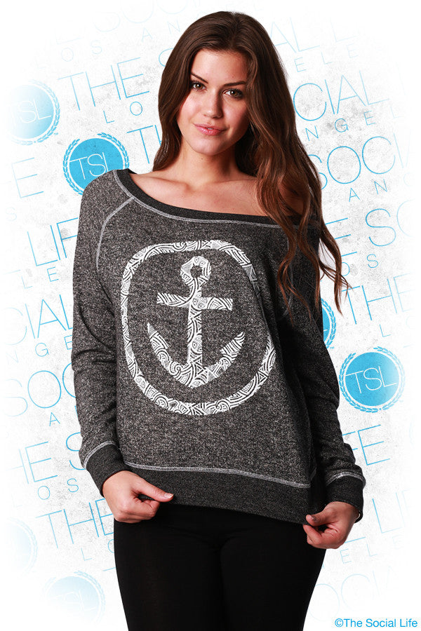 Tribal Anchor Pullover