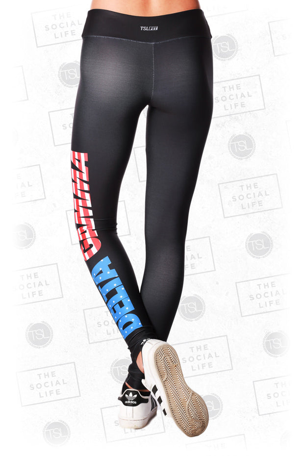 Delta Gamma USA Leggings