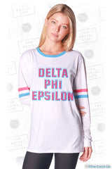 Delta Phi Epsilon Frosted Long Sleeve