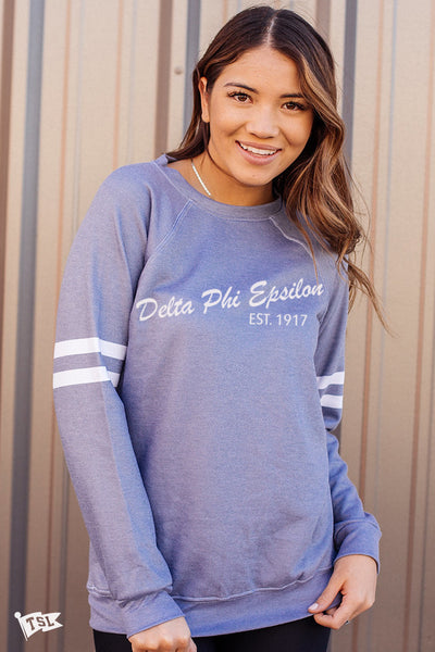 Delta Phi Epsilon Ritual Official Sorority Long Sleeve T-Shirts Tee For Women