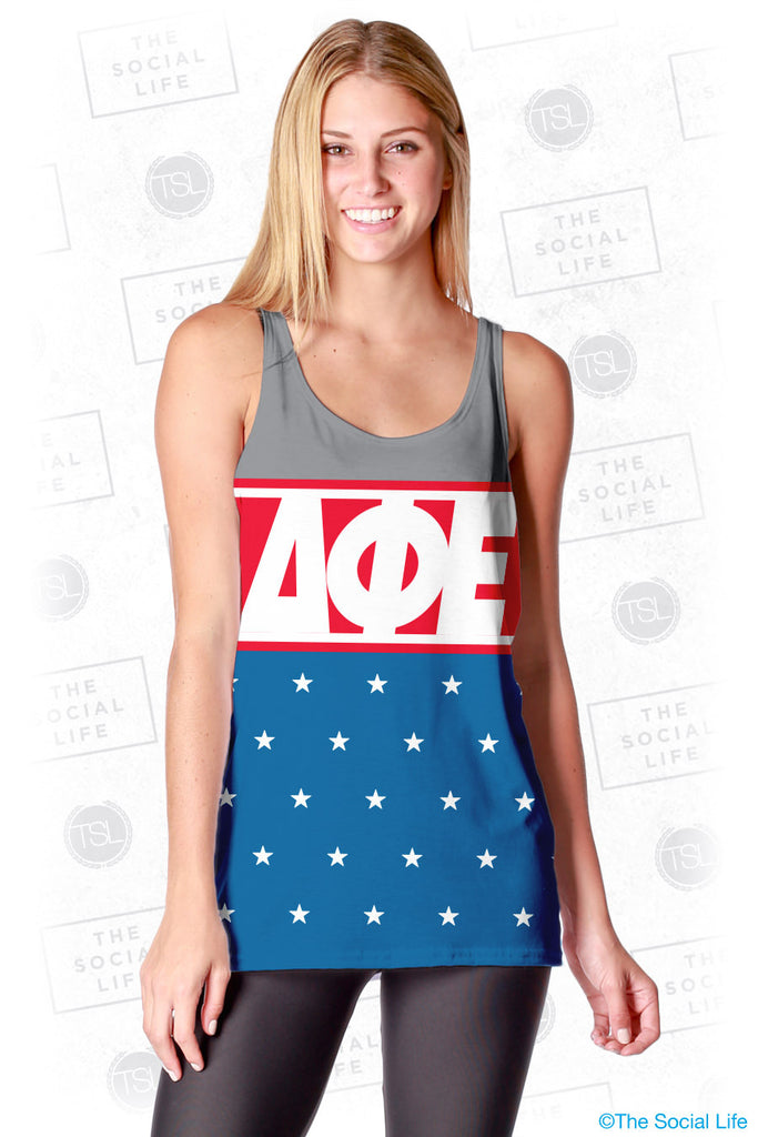 Delta Phi Epsilon Team USA Tank