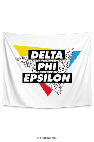 Delta Phi Epsilon Graphy Tapestry
