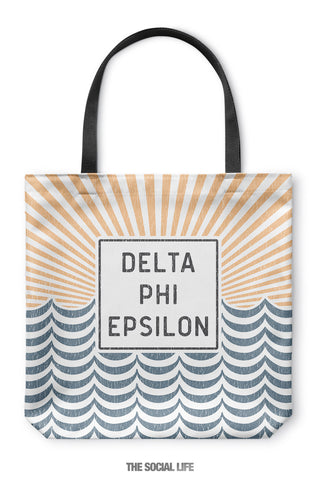 Delta Phi Epsilon Sunshine Tote Bag