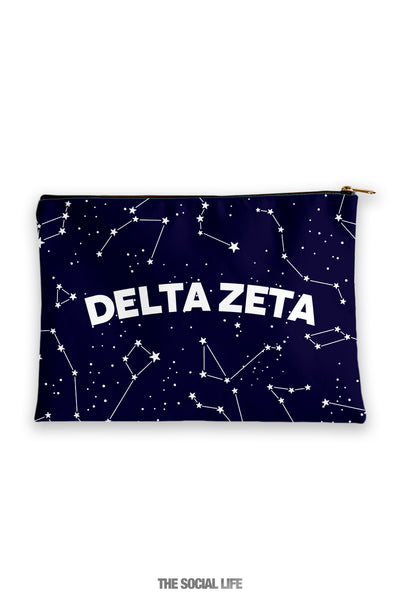 Delta Zeta Constellation Cosmetic Bag
