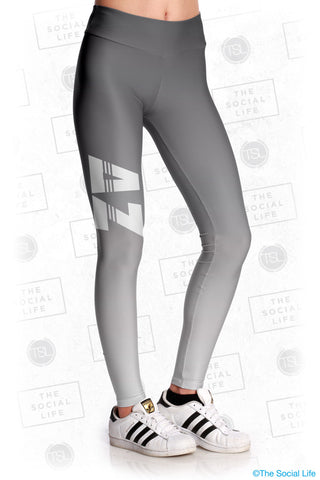 Delta Zeta Fade Leggings