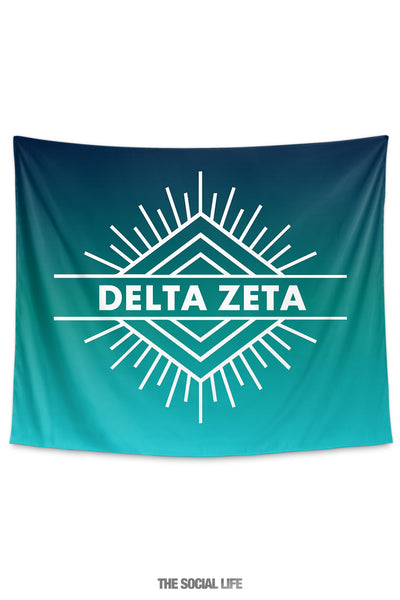 Delta Zeta Twilight Tapestry
