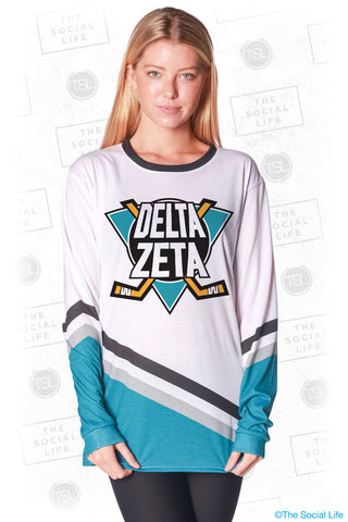 Delta Zeta Mighty Hockey Long Sleeve